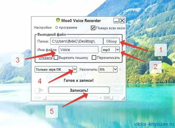 Как сделать запись звука на компьютере рис 5