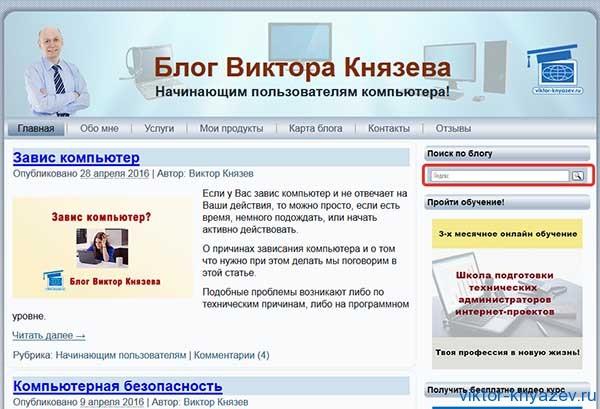 Как пользоваться поиском от Яндекса рис 1