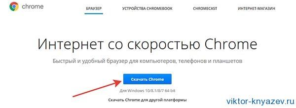 Скачать google chrome рис 1